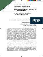 Vanda Miksic - Les actes de silence a la lumiere de la theorie des actes de langage.pdf