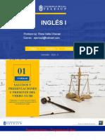 Inglés I UNIDAD I semana 3 [Autoguardado]