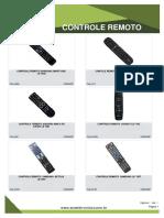 Catálogo Controle Remoto