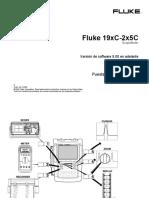 FLUKE 19xC- 2x5C. Puesta en Funcionamiento