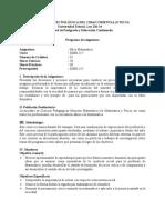 Programa Etica Matematica