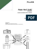 FLUKE 19xC- 2x5C. Manual de Uso