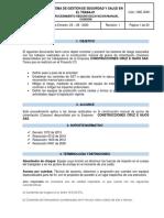 PROCEDIMIENTO SEGURO EXCAVACION MANUAL CAISSON V3