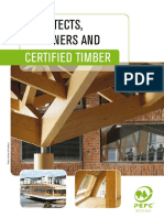 Architects, Desginers and Certified Timber