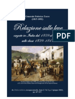 Report to the Italian Ministry of War on draft and recruitment of the Italian Army in 1859-1863.