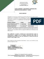 SOLICITUD DE PERMISO MAJAGUAL