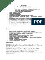 Drept comunitar - Filipescu -Subiecte examen