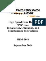 Philadelphia Gear IOM Manual