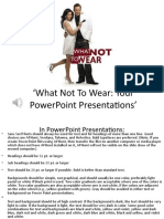 SESSION 10-WHAT NOT TO WEAR PPOINT UPDATED