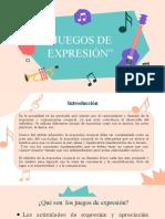 EXPOSICIÓN GRUPAL - JUEGOS DE EXPRESIÓN (1)