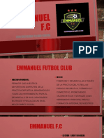 Presentacion Del Club Emmanuel