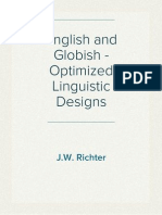 English and Globish - Optimized Linguistic Designs