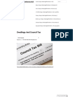 Dwellings and Council Tax