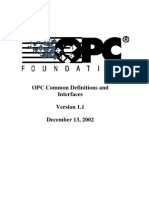 OPC Common 1.10 Specification