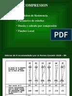 7 y 8.- Pandeo Local. Diseño en Compresión