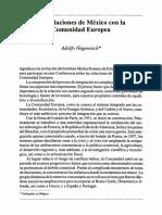 Las relaciones de México con la Comunidad Europea.pdf