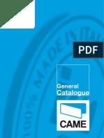 CAME Catalogue