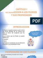 CAPITULO I INTRODUCCION A LOS FLUIDOS Y SUS PROPIEDADES