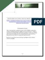 SPOTLIGHT ON FINRA SOCIAL MEDIA WEBINAR