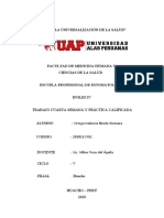 TRABAJO CUARTA SEMANA Y PRÁCTICA - INGLÉS IV