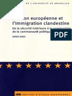 L'UNION EUROPEÉNNE ET LA MIGRATION CLANDESTINE