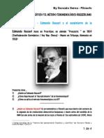 Intro Fenomenología de Husserl