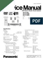 Panasonic sc-pt860 manuals.