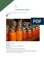 ACIDIFICACIÓN DE CONSERVA DE TOMATE