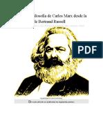 Crítica a la filosofía de Carlos Marx desde la perspectiva de Bertrand Russell