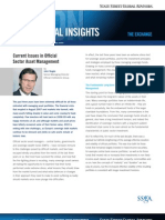 SSgA Capital Insights - Official Sector Asset Management Current Issues