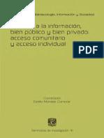Derecho a la información, bien público y bien privado _ acceso comunitario y acc.pdf