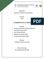 7. ELEMENTOS DE LA CADENA