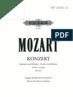 W.A.Mozart Konzert K.622