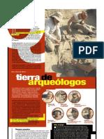 Tierra de arqueólogos (Suplemento Q), PuntoEdu. 29/08/2005