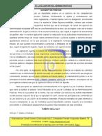 T15 Los contratos administrativos