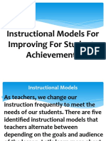 Instructional-Models-For-Improving-For-Students-Achievements