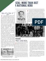 Feature Story of Jose Rizal