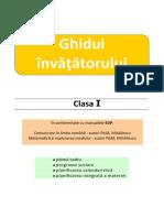 Ghidul Invatatorului Cls1 PITILA 2020 2