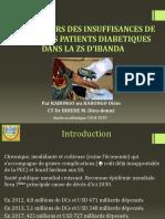 Facteurs des insuffisances de la prise en charge du patient diabétique dans la zone de santé d'Ibanda