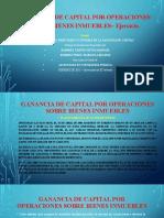 Ejemplos de cálculos de Ganancia de Capital