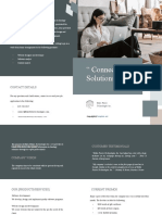 Bifold Work From Home Brochure Template