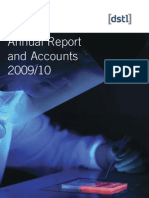 DSTL Annual Reports Accounts 10