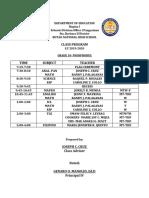 Class Program 2019-2020 Jcc