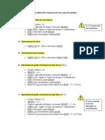 FORMULÁRIO DE UTILIZAÇÃO DA CALCULADORA SEC.