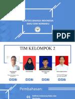 Konteks Bahasa Indonesia Baku dan Nonbaku