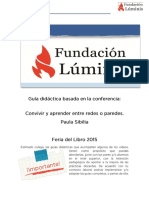 """Guía-didáctica sobre """"Entre redes y paredes"""" (Paula-Sibilia)"""