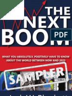 The Next Boom (Sampler) by Jack W. Plunkett