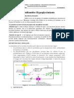 sulfamides hypoglycemiants