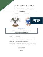 TAREA N°03- ECONOMIA SOCIAL DE MERCADO