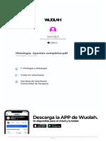 wuolah-free-Histología- Apuntes completos